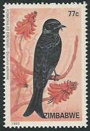 Zimbabwe 1992 Birds of Zimbabwe d