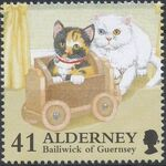 Alderney 1996 In Praise of the Cat e