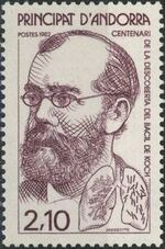 Andorra-French 1982 100th Anniversary of Dr. Robert Kochs Discovery of Tuberculosis a
