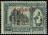 Azores 1926 1st Independence Issue Overprinted g