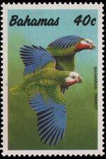 Bahamas 1990 Cuban Amazon b
