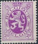 Belgium 1929 Arms - Heraldic Lion e
