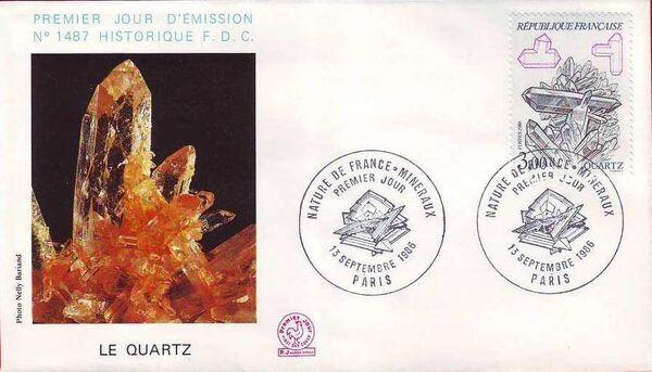 France 1986 Minerals FDCj