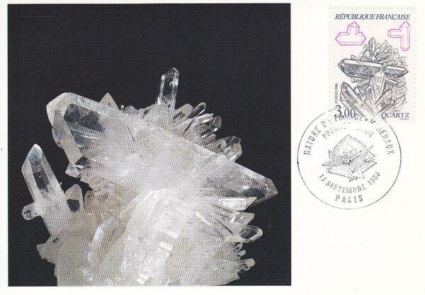 France 1986 Minerals MCb