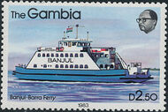 Gambia 1983 River Boats n