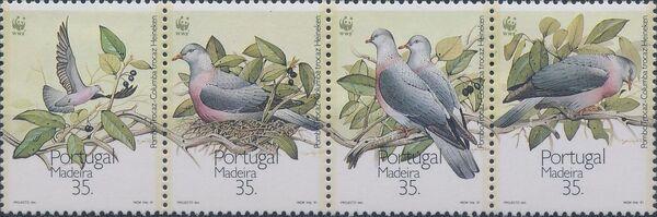 Madeira 1991 WWF Trocaz Pigeon e