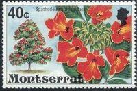 Montserrat 1976 Flowering Trees i