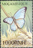 Mozambique 2002 Butterflies v