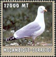 Mozambique 2002 The World of the Sea - Sea Birds 3 a
