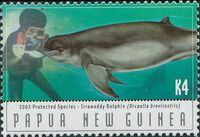 Papua New Guinea 2003 Protected Species - Dolphins f