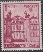 Poland-General Government 1940 Buildings (1st Group) l