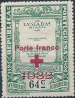 Portugal 1932 Red Cross - 400th Birth Anniversary of Camões d
