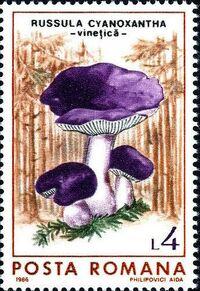 Romania 1986 Mushrooms f