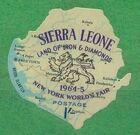 Sierra Leone 1964 New York World's Fair - Regular Stamps e