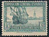 Spain 1929 Seville-Barcelona Exposition e
