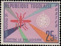 Togo 1962 Malaria Eradication b