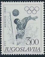 Yugoslavia 1968 19th Olympic Games, Mexico City e