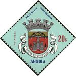 Angola 1963 Coat of Arms - (1st Serie) q