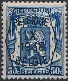 Belgium 1938 Coat of Arms - Precancel (9th Group) f
