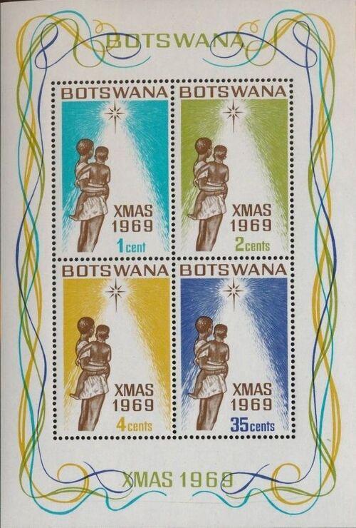 Botswana 1969 Christmas o
