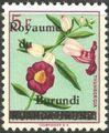 Burundi 1962 Flower Issue of Ruanda-Urundi Overprinted f.jpg
