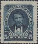 Ecuador 1895 President Vicente Rocafuerte h