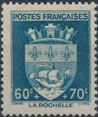 France 1942 Coat of Arms (Semi-Postal Stamps) b