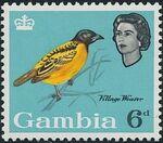 Gambia 1963 Birds g