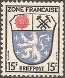 Germany-French Zone 1946 Arms and Writers a