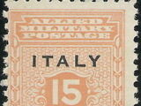 Italy 1943 Allied Miliary Goverment for Sicily
