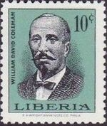 Liberia 1967 Liberian Presidents b