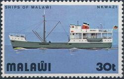 Malawi 1975 Lake Malawi Ships d
