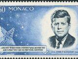 Monaco 1964 Pres. John F. Kennedy and Mercury Capsule
