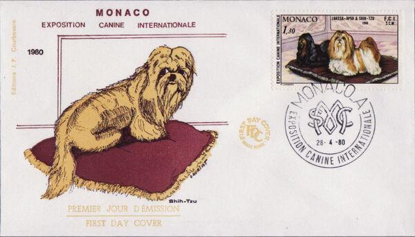 Monaco 1980 International Dog Show, Monte Carlo FDCa