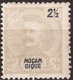 Mozambique 1898 D. Carlos I a