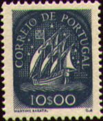 Portugal 1943 Portuguese Caravel (2nd Issue) i