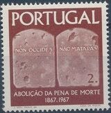 Portugal 1967 1st Centenary of the Abolition of the Death Penalty b
