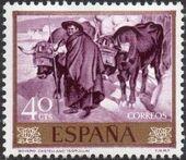 Spain 1964 Painters - Joaquin Sorolla y Bastida b