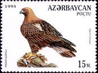 Azerbaijan 1994 Birds of prey b