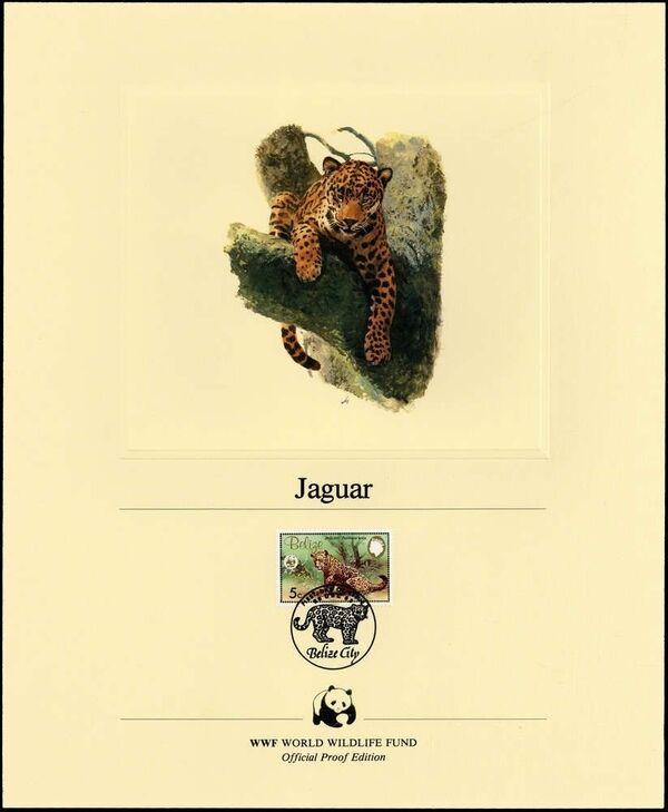 Belize 1983 WWF - Jaguar OPEa