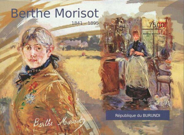 Burundi 2012 Paintings by Berthe Morisot n