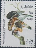 France 1995 Birds by J.J. Audubon d