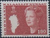 Greenland 1982 Queen Margrethe II b