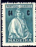 Madeira 1929 Ceres (London Issue) l