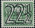 Netherlands 1940 Numerals - Stamps of 1926-1927 Surcharged h.jpg