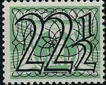 Netherlands 1940 Numerals - Stamps of 1926-1927 Surcharged h