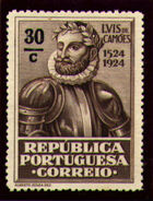 Portugal 1924 400th Birth Anniversary of Camões l