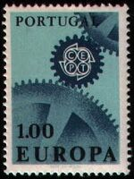 Portugal 1967 Europa a