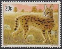 Rwanda 1981 Carnivorous Animals a