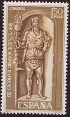 Spain 1968 1900th Anniversary of the Founding of Léon b